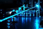 Modrý laser