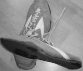 Profesionální běžecké boty ze sedmdesátých let